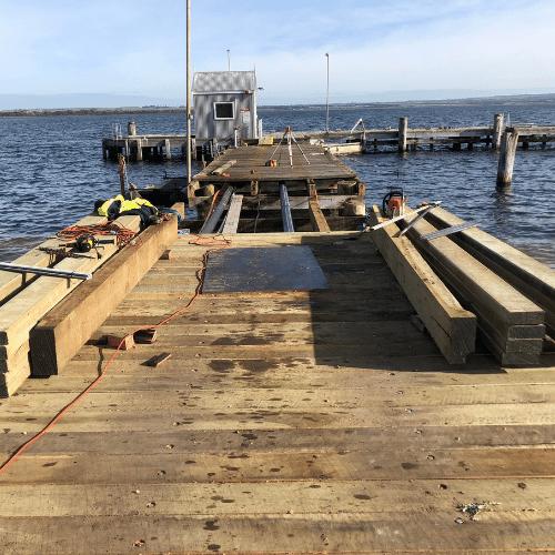 Swan Island Pier